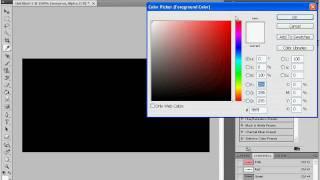 Электрическая надпись в  Adobe Photoshop CS4 (8/20)