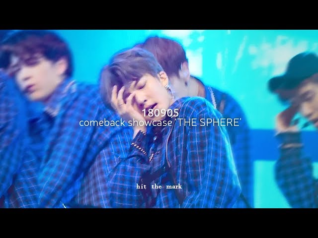 [4K] 180905 comeback showcase THE SPHERE - Right Here ???? ? ?? THE BOYZ HWALL focus