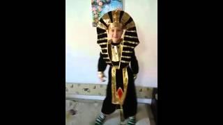 Танцующий Фараон Тутанхамон