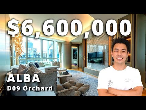 Modern Designer 3 Bedroom Luxury Apartment Condo ALBA ($6.6M) D9 Orchard Singapore Home Tour Ep.90