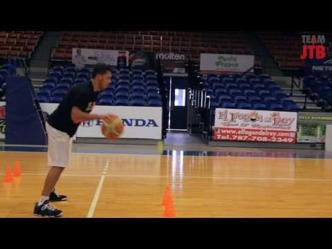Gaby Belardo Working With NBA Skill Coach Jose Torres