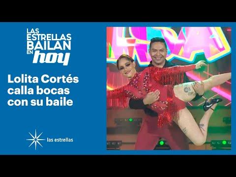 ¡Lolita Cortés demuestra por qué es una eminencia en el baile! | #LasEstrellasBailanEnHoy