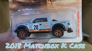 2018 Matchbox K Case Unboxing