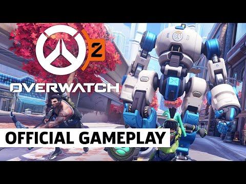 Новый геймплей Overwatch 2 в режиме «Натиск»