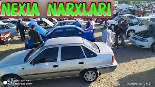 20 SENTABR NEXIA 1 2 NARXLARI |  DENOV MASHINA BOZORI NARXLARI 2020 YIL.