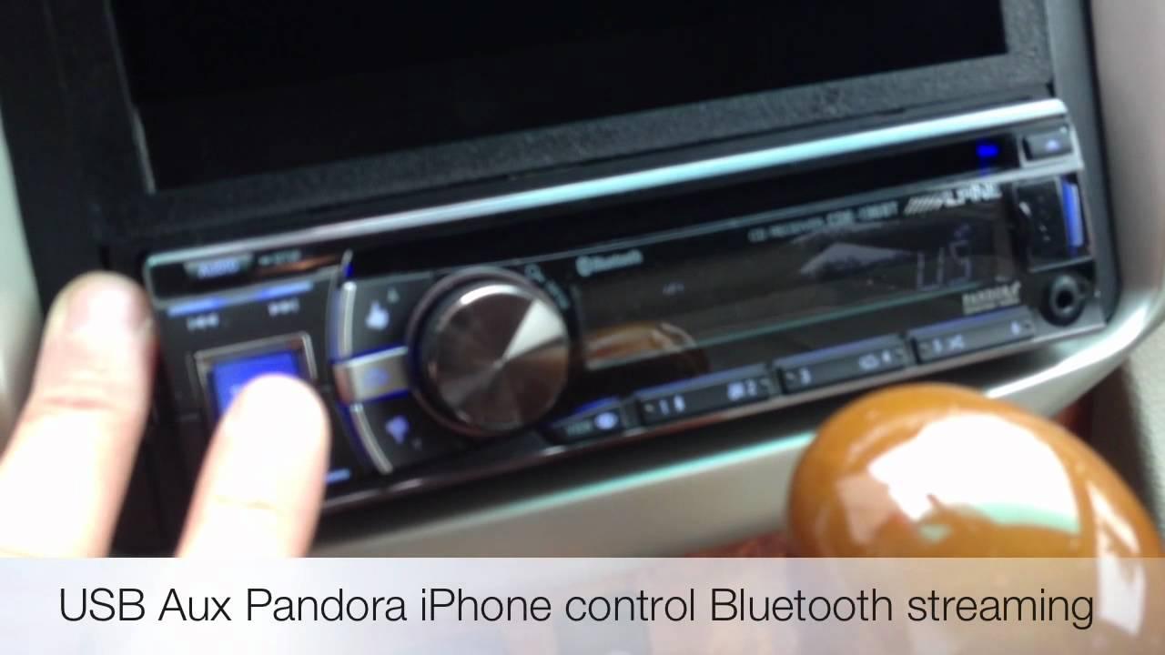 New Lexus Suv >> New ALPINE CDE-136BT Bluetooth USB Radio 2007 Lexus RX330 SUV DASH KIT - YouTube