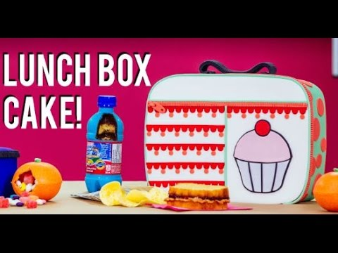 How To Make A LUNCH BOX CAKE With ELISE From MY CUPCAKE ADDICTION! Back To School FUNFETTI CAKE!