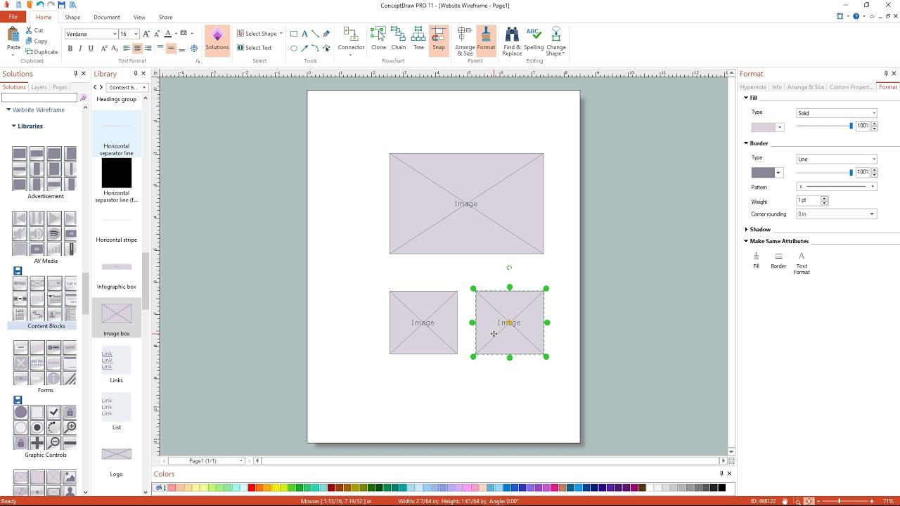Charmant Website Wireframe Diagramm Beispiel Ideen - Elektrische ...