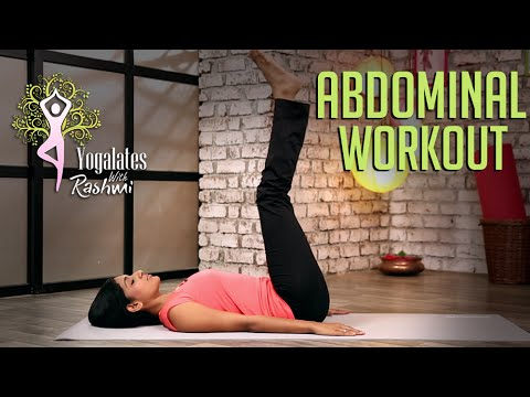 abdominal workout for beginners  yogalates with rashmi