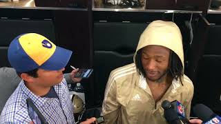 Alvin Kamara talks about the differences from Saints loss in opener