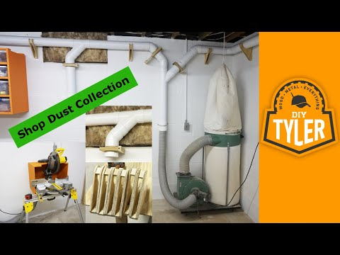 Modify a harbor freight dust collector funnycat tv for Dust collection system design home shop