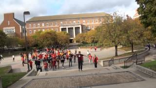MP3 Flash Mob at the University of Maryland, October 2012
