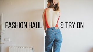 haul and try on   zara asos topshop motel rocks   fashion et moi