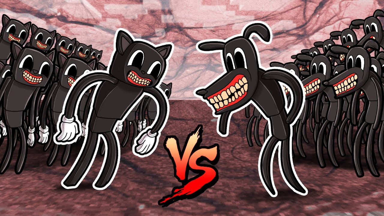 Cartoon CAT vs Cartoon DOG! (Minecraft)