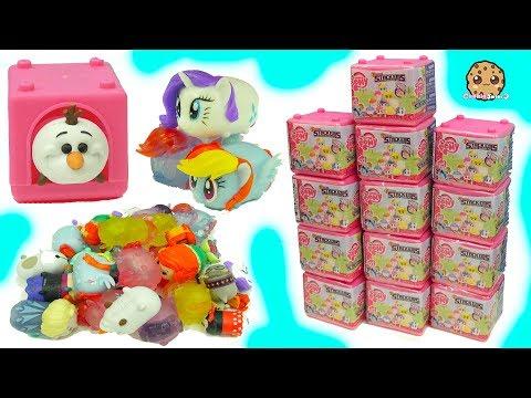 My Little Pony Fashems Stackems Squishy MLP + Disney Frozen Tsum Tsum