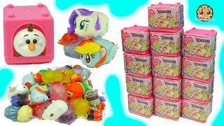 My Little Pony Fash'ems Stack'ems Squishy MLP + Disney Frozen Tsum Tsum