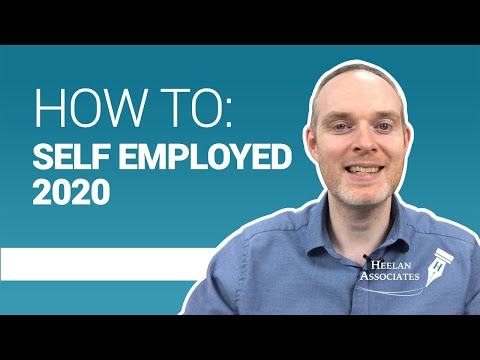 HOW TO BECOME SELF EMPLOYED IN 2020