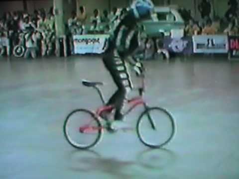 Eddie Fiola  Flatland Run 1986 AFA,Columbus, Ohio.