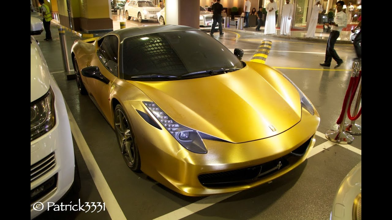 17+ Gold Ferrari 458 Italia Wallpaper  Background