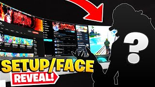 THE FACE REVEAL! ($10,000 GAMING SET UP TOUR)