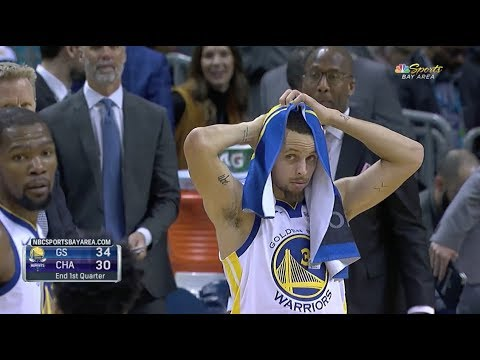 Stephen Curry Couldn't Believe Kevin Durant's Handles On Michael Kidd-Gilchrist