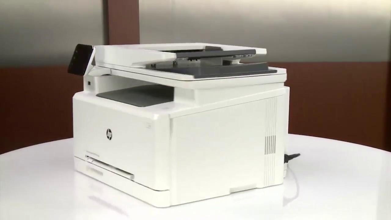 Hướng Dẫn Sửa Lỗi Kẹt Giấy Trên Máy In Laser Màu HP M277dw - Fixing a Paper Jam on the HP M277dw - YouTube