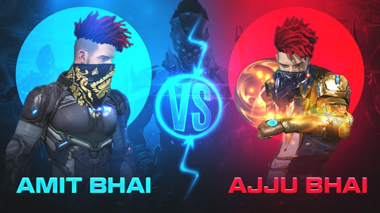 AJJUBHAI vs AMITBHAI Gun Collection Comparison - Garena Free Fire