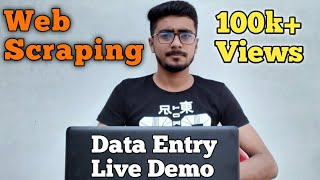 Data Entry Work On fiverr Easy to learn Lead generation