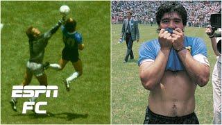 Remembering 'the tormented genius' Dięgo Maradona & the Hand of God | ESPN FC