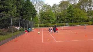 Tenniskids Blauw - 6 mei 2017