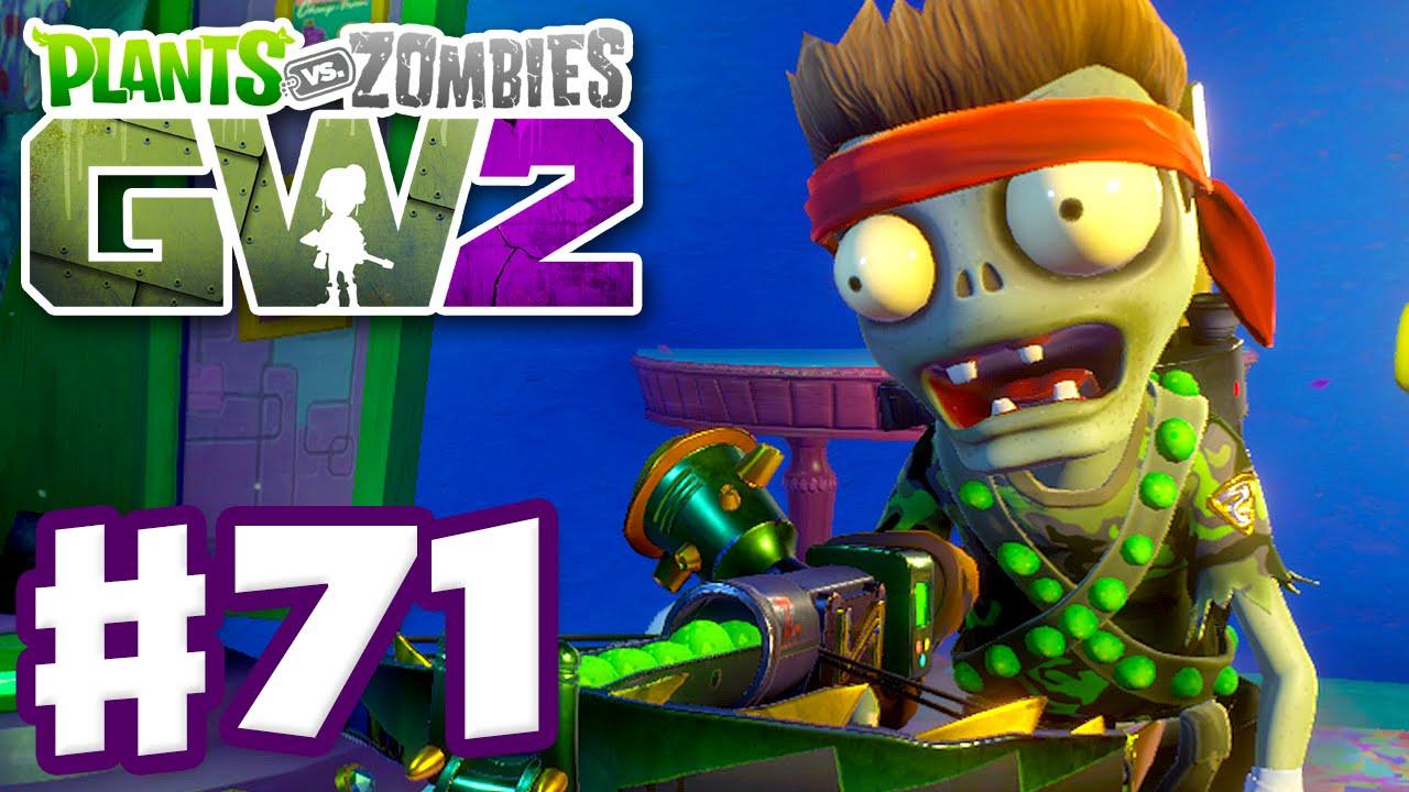 Plants Vs Zombies Garden Warfare 2 Gameplay Part 71 Super Commando Pc Youtube