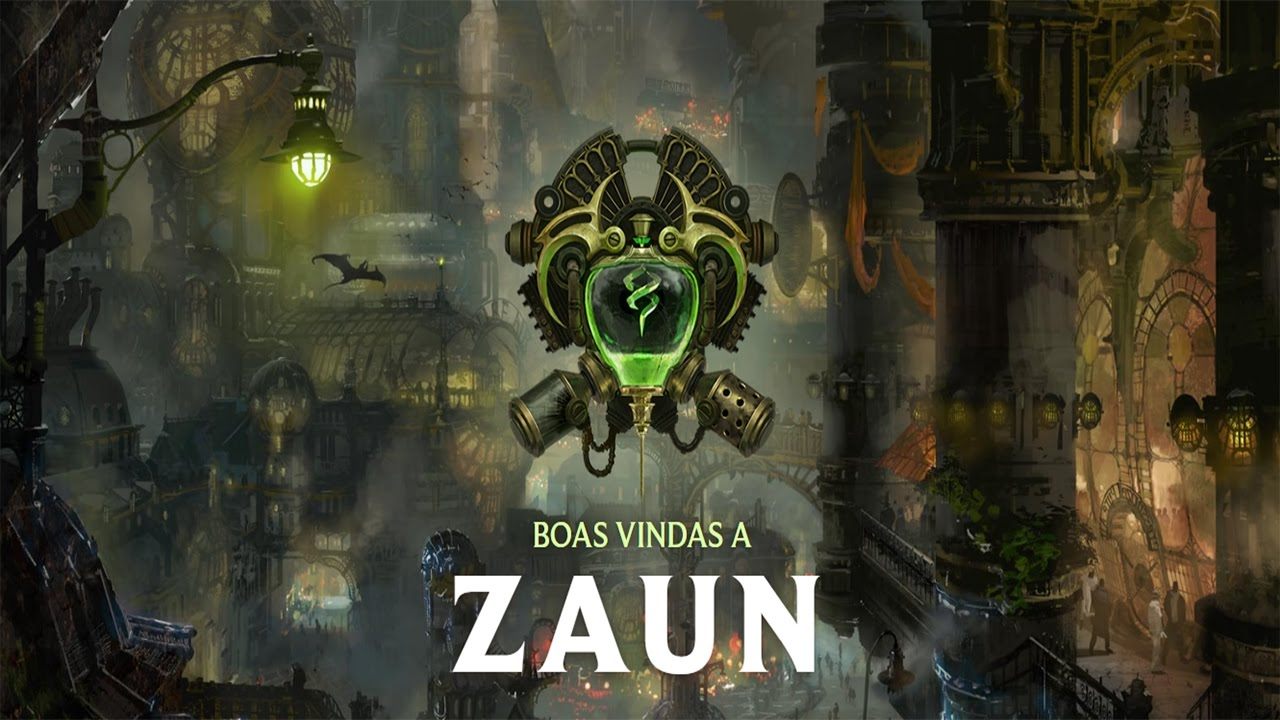 City Lore Zaun League Of Legends Youtube