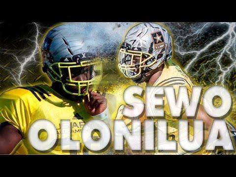 Sewo Olonilua | Kingwood High School | RB - OLB | Senior | U.S. All-American Bowl