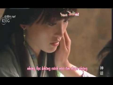 Vietsub Kim Sa  Thần thoại trăng sao  OST Thần thoại new link   MV   Performance   Chinese Music   KST   Keep Smiling Together