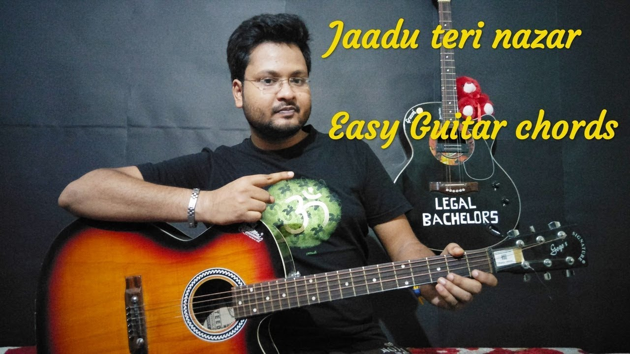 JAADU TERI NAZAR | Easy guitar chords | Strumming pattern