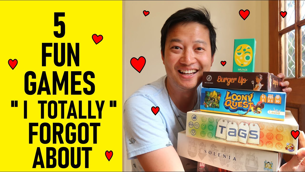 5 Fun Board Games I TOTALLY Forgot About... But Rediscovered | Top Family Board Games