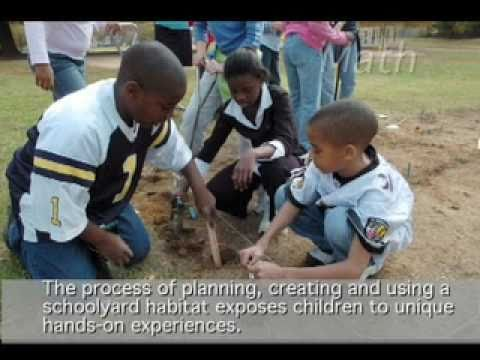 Schoolyard Habitat - Learning and Conserving America's Great Outdoors