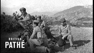 War Front In Northern Greece (1947)
