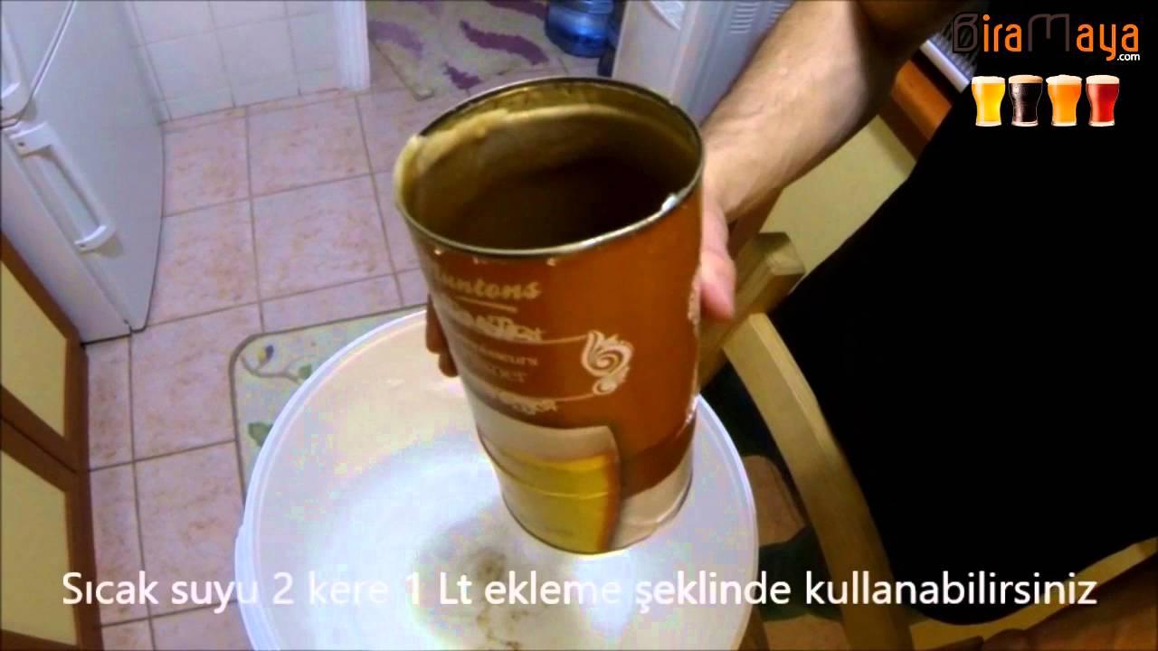 Tarifler: evde bira nasıl yapılır