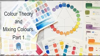 Gambar cover Colour Theory and Mixing Colours. Part 1.