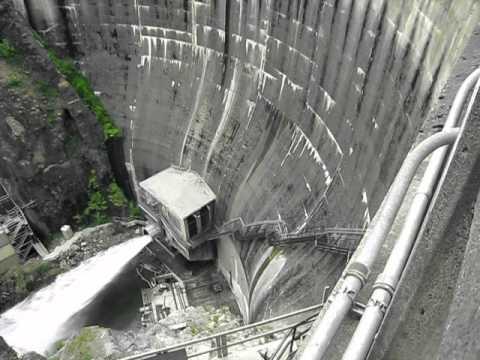 Cushman dam