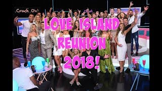 LOVE ISLAND THE REUNION 2018 | BEHIND THE SCENES!