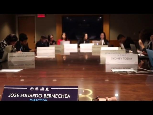 Video preparado por el Cuerpo de Prensa en #NYMUNLAC2019