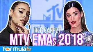 MTV EMAs 2018: Así viven la red carpet Danna Paola, Dulceida y otros rostros televisivos