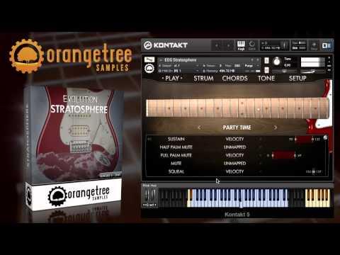 Evolution Electric Guitar Stratosphere - Walkthrough Demonstration