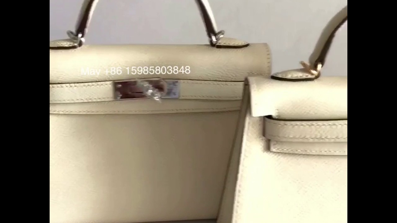 12feebd2dd47 ... buy hermes kelly 20cm epsom leather craie ghw d157c c8988 ...