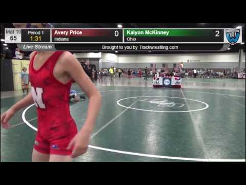 3029 Intermediate 65 Avery Price Indiana vs Kaiyon McKinney Ohio 8571143104
