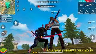 BOTS IN FREE FIRE LIVE WITH GAITONDE FT RAJU.ZX