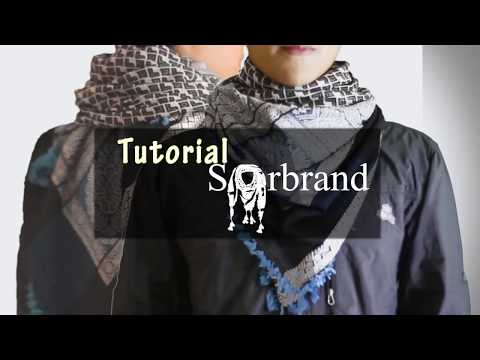Tutorial memakai sorban – How to wear keffiyeh By Sorbrand