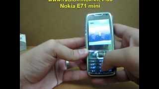Обзор китайская Nokia E71 mini(Обзор копии телефона нокии - модель E71 mini. Один из самых качественных мобильных телефонов, которые можно..., 2012-07-20T13:18:57.000Z)